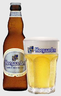 A tall cold Hoegaarden