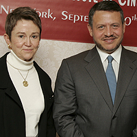 King Abdullah and USC Dean Elizabeth M. Daley attend ceremony in New York
