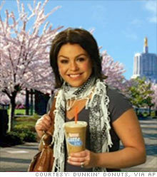Rachael Ray shills for Dunkin Donuts